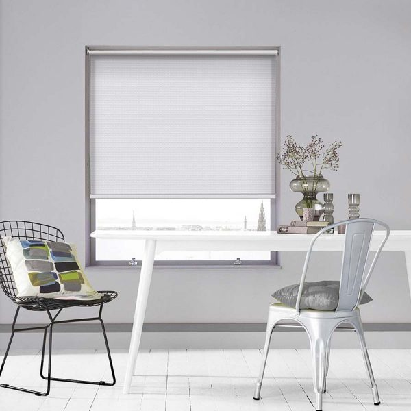 Montreal Snow Roller Blinds