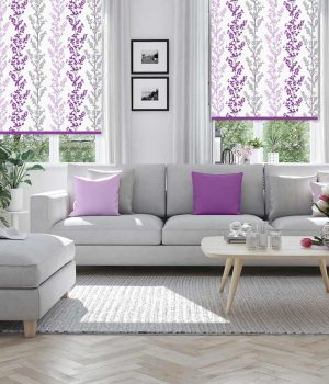 Branches-Plum-Roller-Blind