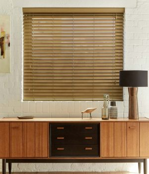Oak Faux Wood Blinds