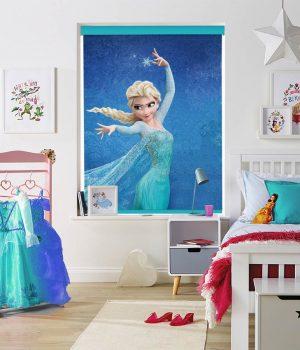 Elsa-Snow-Queen-roller-blind