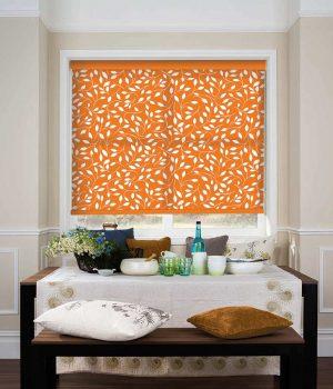 Rainsford-Orange-Roller-Blind