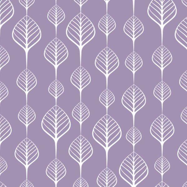 Sea-Leaves-Lilac-Roller-Blind