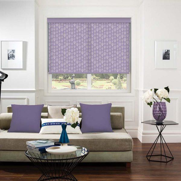 Sea-Leaves-Lilac-Roller-Blind2