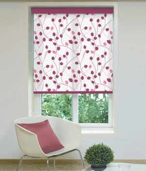 Summer-Blush-Azalea-Roller-Blind