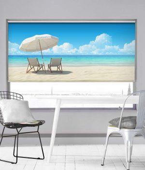 Beach Umbrella Roller Blind