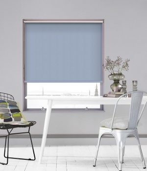 Frida Blue Roller Blind