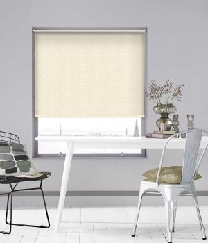 Orchard Oatmeal Roller Blind
