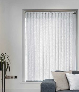 Oval Ice Allusion Blind