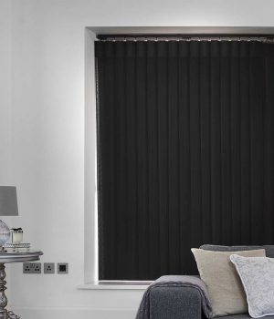 Stripe Black Allusion Blind