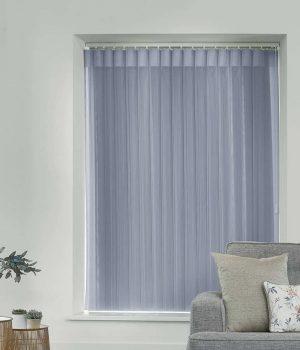 Stripe Lilac Allusion Blind