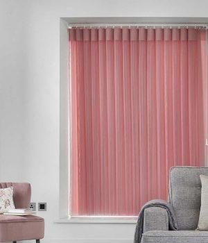 Stripe Pink Allusion Blind