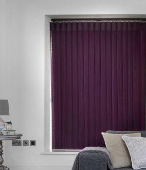 Stripe Purple Allusion Blind