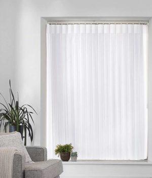 Stripe White Allusion Blind