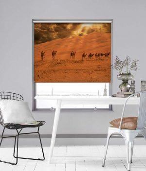 Desert Safari Photo Roller Blind