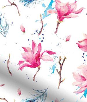 Waterflower-Magnolia-Roller-Blind1